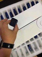 2021 Qualité de luxe 44mm Smart Montres Série 6 Chargements sans fil Bluetooth avec numéro de série Dispositif portable étanche Trésor cardiaque moniteur de pression artérielle ECG