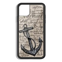 anchor nautical Phone Case for iPhone 12 X XS XR 11 Pro Max SE 2020 5 6S 7 8 Plus Samsung S9 S10 S20 S21 Cover