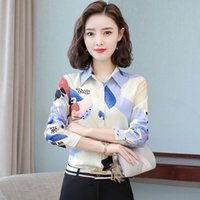 Women's Blouses & Shirts Women Long Sleeve Autumn Blouse Shirt Office Elegant Work Fitness Clothing Tops And