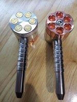 그라인더와 흡연 파이프 분쇄기와 6 슈팅 파이프 두 기능 담배 파이프 및 허브 그라인더 허브 그라인더 Dhzeus shop