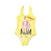 Girls Cartoon Swimming Costume New Summer Kids Swimwear Chil...