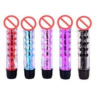 Crystal Vibrators AV Stick G Spot Vibrator Masturbator for Women Vagina Clitoris Sexy Toys Wholesale