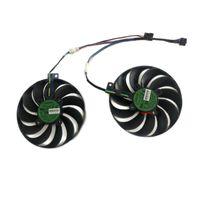 Fanlar Soğutma T129215SU 95mm (100mm) ASUS Dual-Rx 5500 XT-O8G-EVO ROG-Strix-RX5500 XT-O8G-Gaming Video Kartı Soğutma için Soğutucu Fan