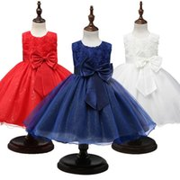 Girl's Dresses First Communion Dress Girls Year Costume Kids For Party Ball Gown Princess Size 3 5 8 10 12 Years
