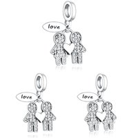 Fit Original Pandora Charm Bracelet 925 Sterling Silver Boy ...