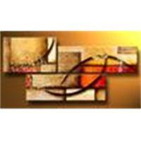 Modernes abstraktes Ölgemälde Mehrfachteils-Leinwand-Kunst-Set Riesige Handwerksgrafik hohe Qualität