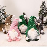 Creative Faceless Sitting Posture Gnome Snowman Doll Christmas Decoration Toy Party