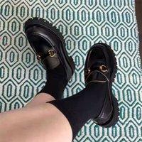 2021 أعلى الأزياء منصة مصمم الأحذية الثلاثي الأسود المخملية الأبيض المتضخم رجالي والنساء عارضة حزب اللباس الساق