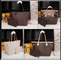 2021 2021 Зажимы для волос 2021ЛеготьЛуи составные сумки Vitton женские кожаные сумки + кошелек Michael Messenger Bag Bag Tote кошелек Wal