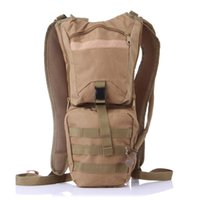Waterproof camouflage Oxford cloth backpack 3L bladder water outdoor light cycling sports bag