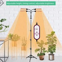 Grow Lights LED Plant Light Full Spectrum Bar Lamp 360-degree Adjustable For Tent Greenhouses Flowers With Stand
