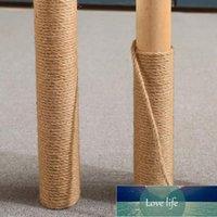 diy jute حبل الطبيعية الجوت حبل الملتوية الحبل الحرف اليدوية المنزل الديكور القط تسلق الإطار 6MM 10M
