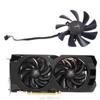 480 470 VGA GPU Graphics Fan for XFX R9 390X / 390 8G RX470 Placa de vídeo Refrigeração O28 20 Dropship Fans Coolings