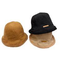 Wide Brim Hats Women Bucket Stylish Streetwear Simple Tender Feminine Caps Sunscreen All-match Students Korean Style Solid Casual