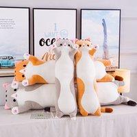 Plüschspielzeug Tierkatze Nette Kreative langes weiche Spielzeug Break Nap Kissen Kissen Für Kinder Gefüllte Puppe Büro Geschenk Schlafen LUNK 769 S2