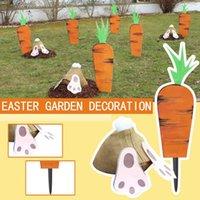 Pasqua decorazione giardino pianta marcatori terra piantagione di puntelli ornamenti etichetta orticole inserendo decorazioni terra