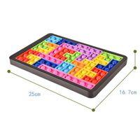Neue Partygeschenk Bunte Tetris Puzzle Zappeln Spielzeug Anti-Stress Blase Kompressionen Lindere Autismus Spiele