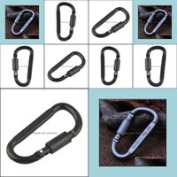 Outdoor Gadgets And Sports & Outdoors1Pc Cam Aluminum Alloy Carabiner Hiking D-Ring Keychain Clip Hook Buckle Sport Drop Delivery 2021 Hytxl