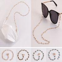 Kadınlar için Güneş Gözlüğü Zincirleri Akrilik İnci Kristal Gözlük Maskeleme Zinciri İpi Cam CNY2457