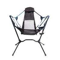 Portable Recliner Luxury Ultralight Outdoor Foldable Canvas Hammock Chair Folding Camping With Bag Fishing Accessories