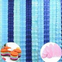 3,6 м Многоцветные четырех лист клевера бумаги баннер для DIY Свадебный фестиваль партии гирлянда поставляет домашнюю комнату висит овсянка декор 7Z украшения