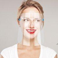 Visita rapida Scudo di sicurezza viso Gambe Goggle riutilizzabile visiera visiera visiera visiera trasparente Anti-fog di protezione proteggere gli occhi da spruzzi DWF7278