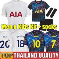 20 21 Thailand Tottenham Hotspur KANE BERGWIJN Fußballtrikots Sporen 2020 2021 LUCAS DELE SON Fußballtrikot gesetzt NDOMBELE Männer Kinder-Kit Uniformen