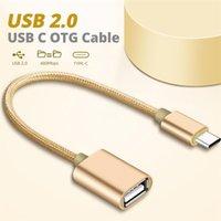 유형 C OTG 어댑터 마이크로 USB 여성 변환기 케이블 플래시 드라이브 리더 마우스 게임 패드 태블릿 휴대 전화 커넥터