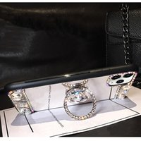3D 아크릴 Sunjolly 거울 다이아몬드 케이스 아이폰 11 프로 최대 XS 최대 XR 8/7 플러스 6 / 6s Plus SE2020 전화 케이스 커버 코크 기본