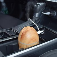 Car Air Freshener Universal Portable Humidifier Diffuser Purifier USB Aroma Essential Oil For Home Auto Accessories