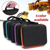Bottles 5~15Ml Essential Oil Carry Case Holder Storage Perfume Nail Polish Box Hand Bag Cosmetic Bags & Cases