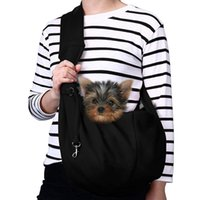 Pet Carrier, Hand Free Sling Adjustable Padded Strap Tote Bag Breathable Shoulder Front Pocket Belt Carrying Small Dog Cat Car Seat Covers
