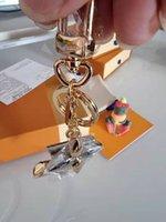 high qualtiy brand Designer Keychain Fashion Purse Pendant Car Chain Charm Bag Keyring Trinket Gifts Accessories