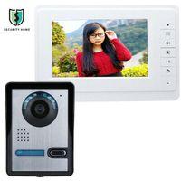 FIMEI SY819FA11 7 pouces HD Doorbell Caméra Vidéo Interphone Porte Système de téléphone Système de sécurité Sécurité avec Téléphones de moniteur
