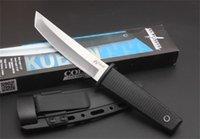 Ankunft Kaltstahl 17T Kobun Survival Stright Messer Tanto Point Satin Blade Utility Feste Blade Messer Jagd Hand Werkzeuge HW184