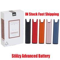 Sistema de entrega avançado da bateria do stiiizy Kit de partida do vaporizador do vaporizador do vaporizador de 210mAh com baterias da caneta do Vape do cabo USB