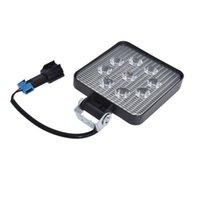 DHBH-9Deled 27 W Light Light 12V 24 V Car Spotlight Spotlight quadrato Camion Auto Off Road Mini LEDbar Accessori fuoristrada Funzionamento