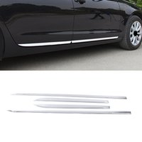 CarMango for Audi A3 8Y 2020-2021 Hatchback Car Accessories Stainless Door Side Moulding Cover Sticker Trim Exterior Decoration