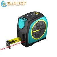 Smart Home Control MULLEEY DT10 شريط قياس الليزر 2 في 1 Rangefinder الرقمية مع شاشة LCD، هوك المغناطيسي