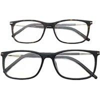 أزياء النظارات الشمسية إطارات نظارات خفيفة الوزن الإطار للجنسين مستطيل فليبريم 56-16-140 لصفة النظارات الطبية Ltaly-المستوردة الخالص