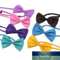 19 Colors Pet Tie Dog Collar Flower Accessories Decoration Supplies Pure Color Bowknot Necktie