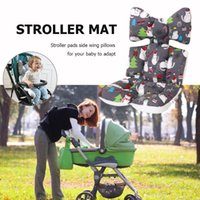 Stroller Parts & Accessories Christmas Snow Cat Soldier Print Baby Chair Seat Cushion Mat Protector Sleeping Pillow Infant Pram Accessory