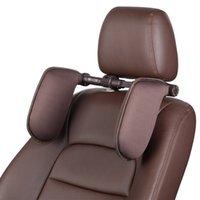 Cabeza de cuello Handcraft Coche Accesorios Interior Accesorios de asiento Cojines para asiento Lado Atrás Almohada Protectora En Forma de U Automóviles Motocicletas