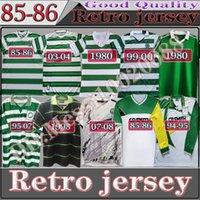 1980 1982 1984 1986 1989 Celtic Retro Futbol Formaları 1991 1992 1998 1999 Futbol Gömlek Larsson Klasik Vintage Sutton 1995 1997 Uzun Kollu Üniformalar