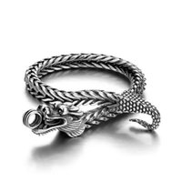 Charm Bracelets Classic Retro Faucet Bracelet Gothic Punk Locomotive Hand Men's Domineering Hip-Hop Rock Jewelry Gift