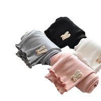 Girls Leggings Baby Pants Kids Tights Children Clothes Childrens Clothing Spring Autumn Cotton Long Trousers Wear Cute B8670
