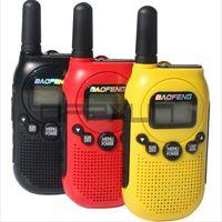 Walkie Talkie Baofeng Pofung BF-T6 6 WalkieTalkie Two Way Ham Cb Radio Red Portable Handy License Free Handheld Intercom Communicator