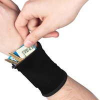 Storage Bags Multifunctional Outdoor Running Cycling Wrist Band Wallet Safe Wallets Zipper Ankle Wrap Sport