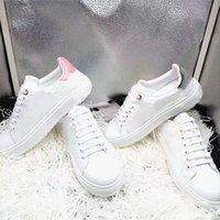 Time Quality Time Out Sneakers Fashion Platform Shoes Letter Lettera Vecchio fiore Sneaker uomo Donne formatori Scarpa casual in vera pelle con scatola