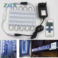 Modules SMD 5630 LED Module Makeup Mirror 10PCS 20PCS Channel Letter Cosmetic Atmosphere Decor Light Lamp 11K Dimmer DC 12V Adapter Set